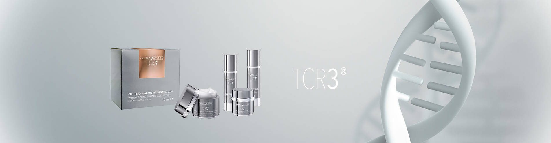 Your brand name or label on TCR3 skin care Private Label Cosmetics German Manufacturer