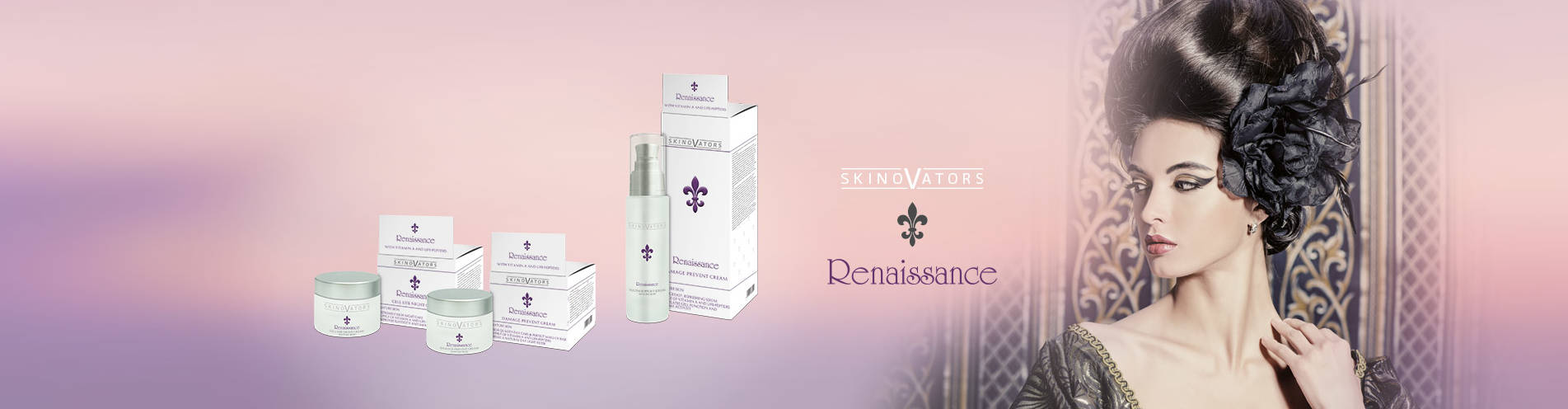 Skinovators Renaissance: Wrinkle preventing and age preventing cosmetic for private label
