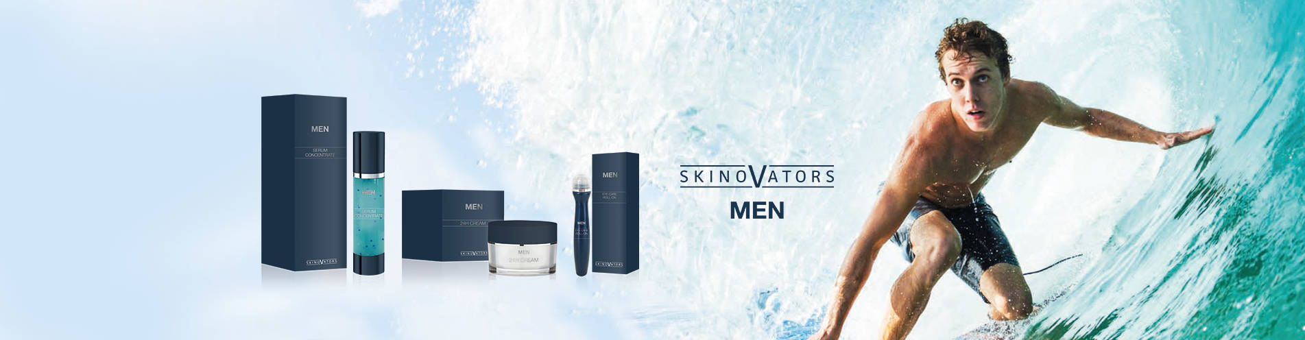 Your brand name or label on men cosmetic Private Label Cosmetics German Manufacturer