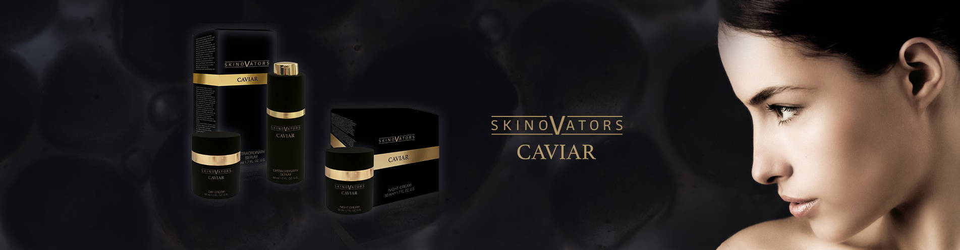 Your brand name or label on Caviar Private Label Cosmetics German Manufacturer