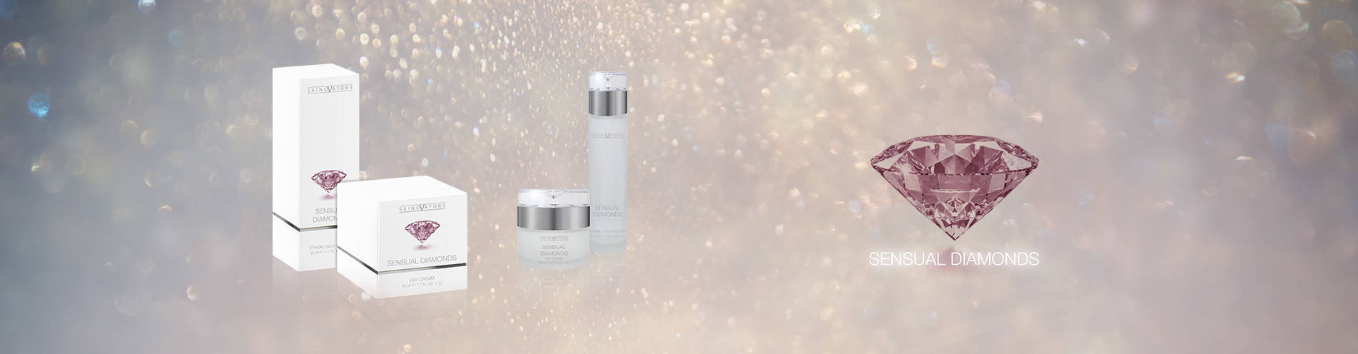 Your brand name or label on Sensual Diamonds cosmetic Private Label Cosmetics German Manufacturer