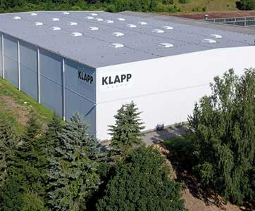 KLAPP GROUP warehouse in germany