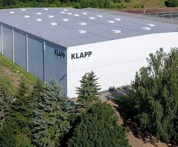 KLAPP GROUP warehouse in germany