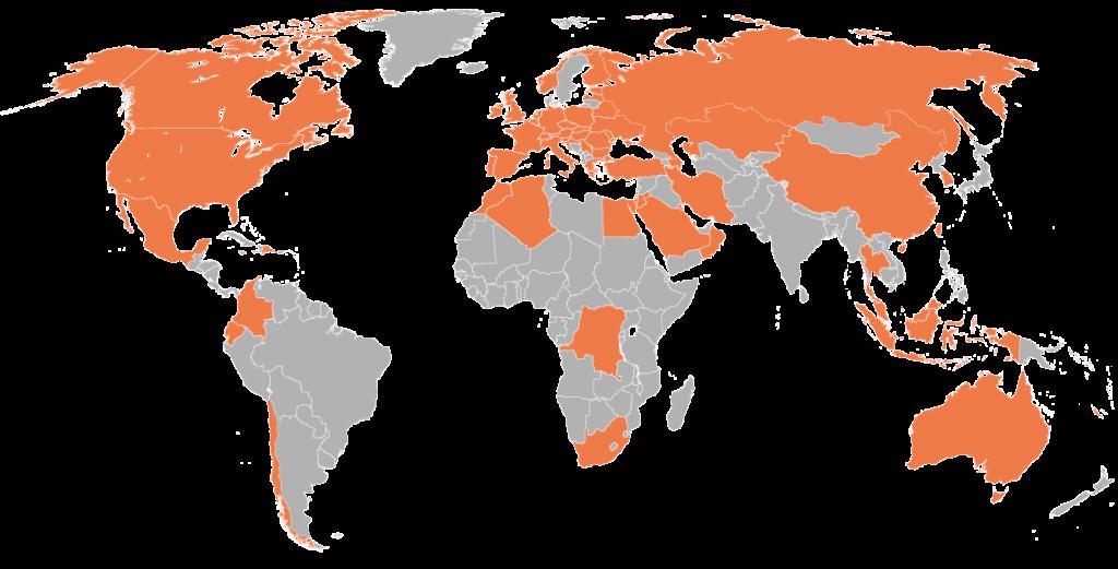 international (world wide) white label cosmetic distribution