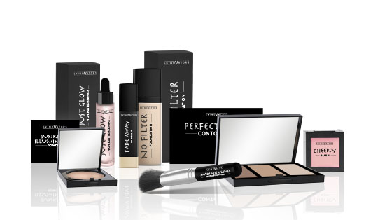 Private label Colour Cosmetics for teint, eyes and nails such as brushes, eyeshadows, eye pencils, eyeliners, blush for cheeks and nail polish.